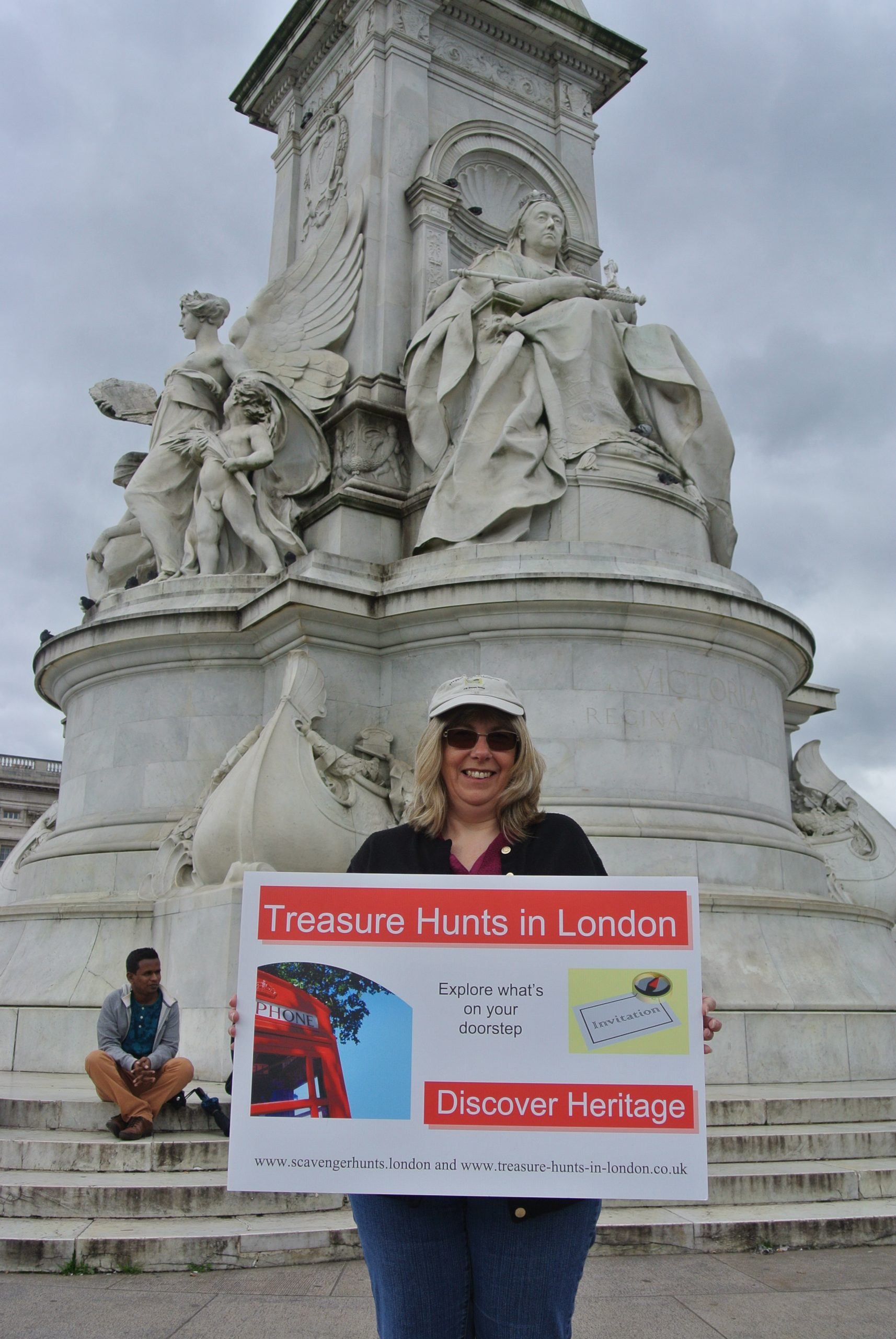 Meeting point for Treasure Hunts in London