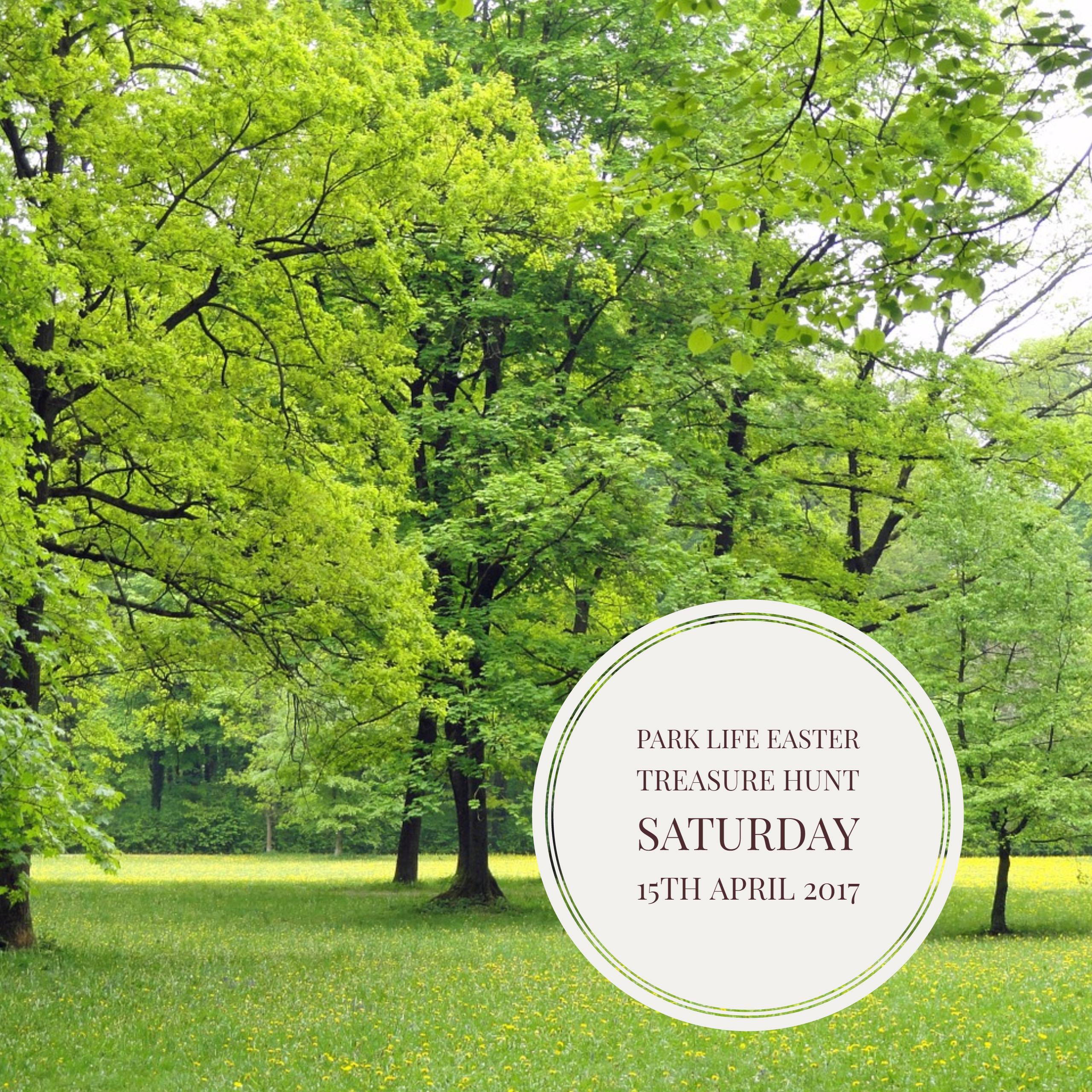 Park Life Easter Treasure Hunt by Treasure Hunts in London