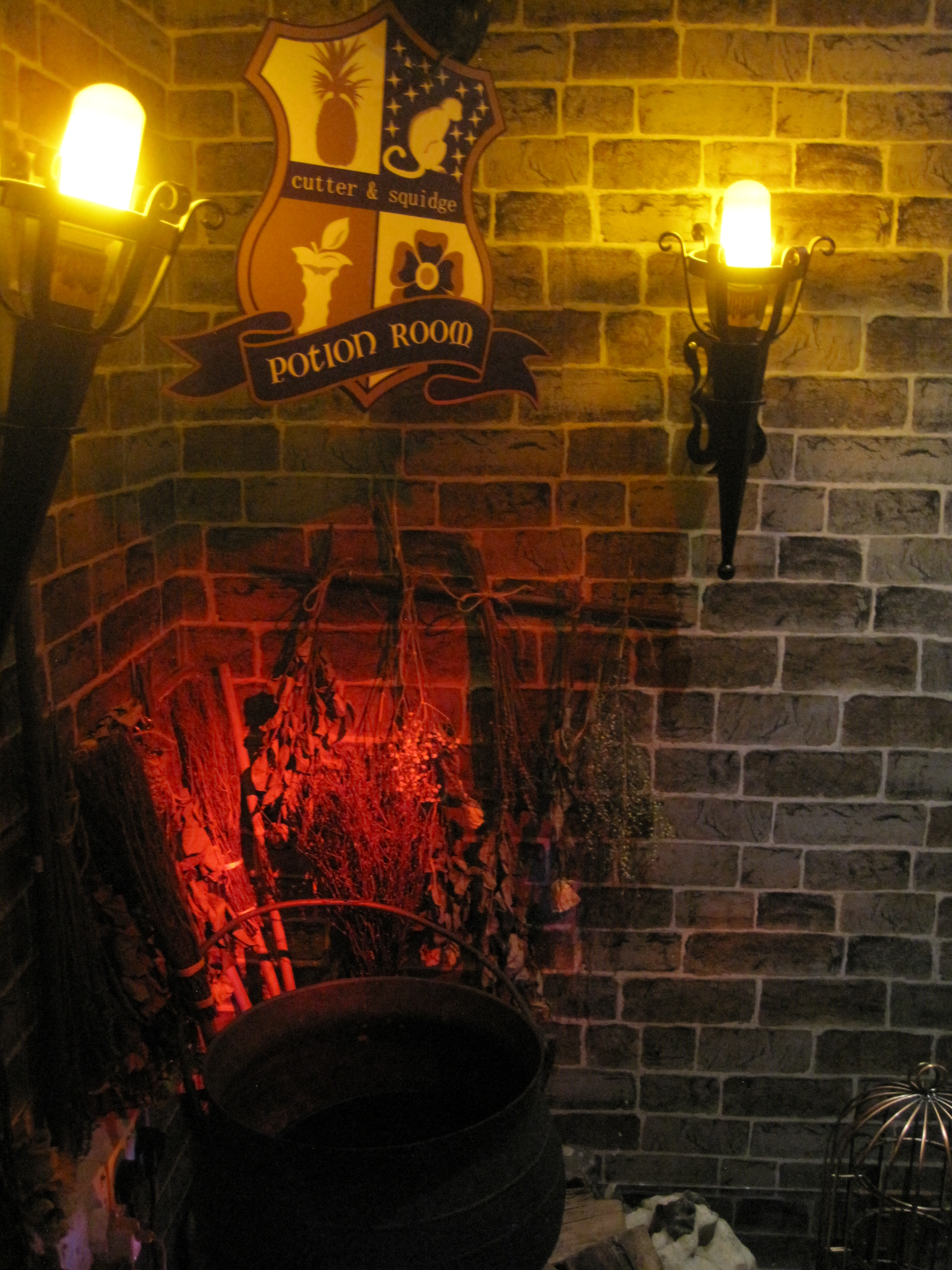 Entrance to potions room - photo by juliamaud