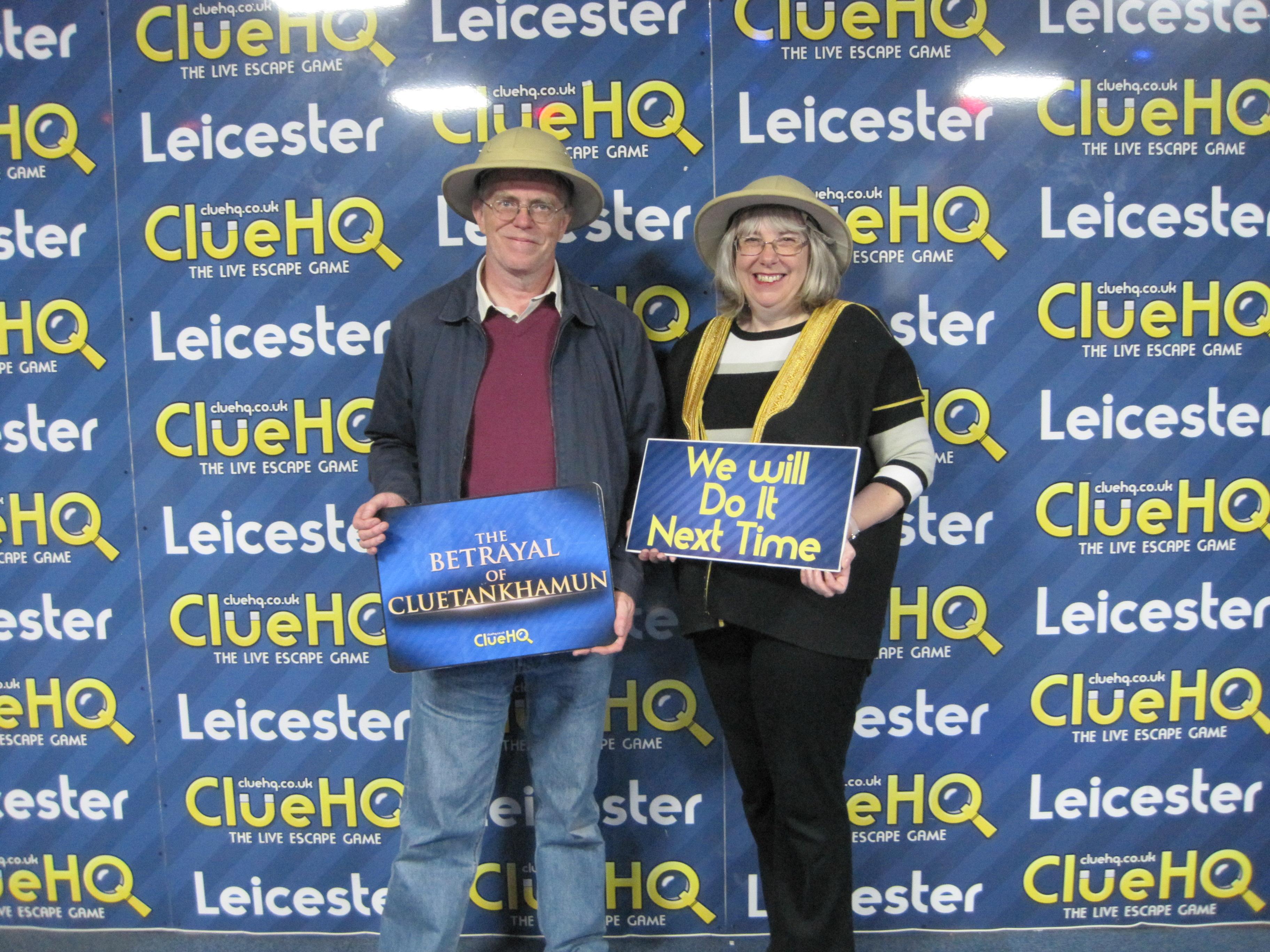 Clue HQ Leicester Team