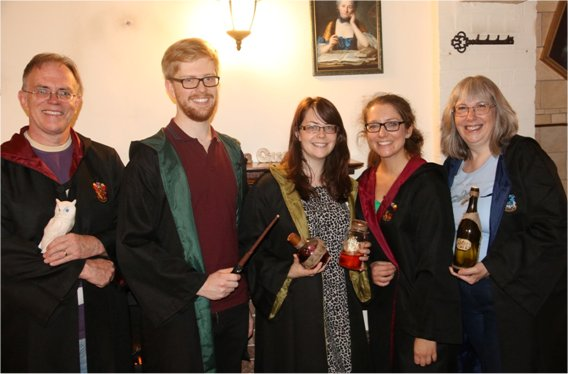 Team complete The School of Witchcraft and Wizardry