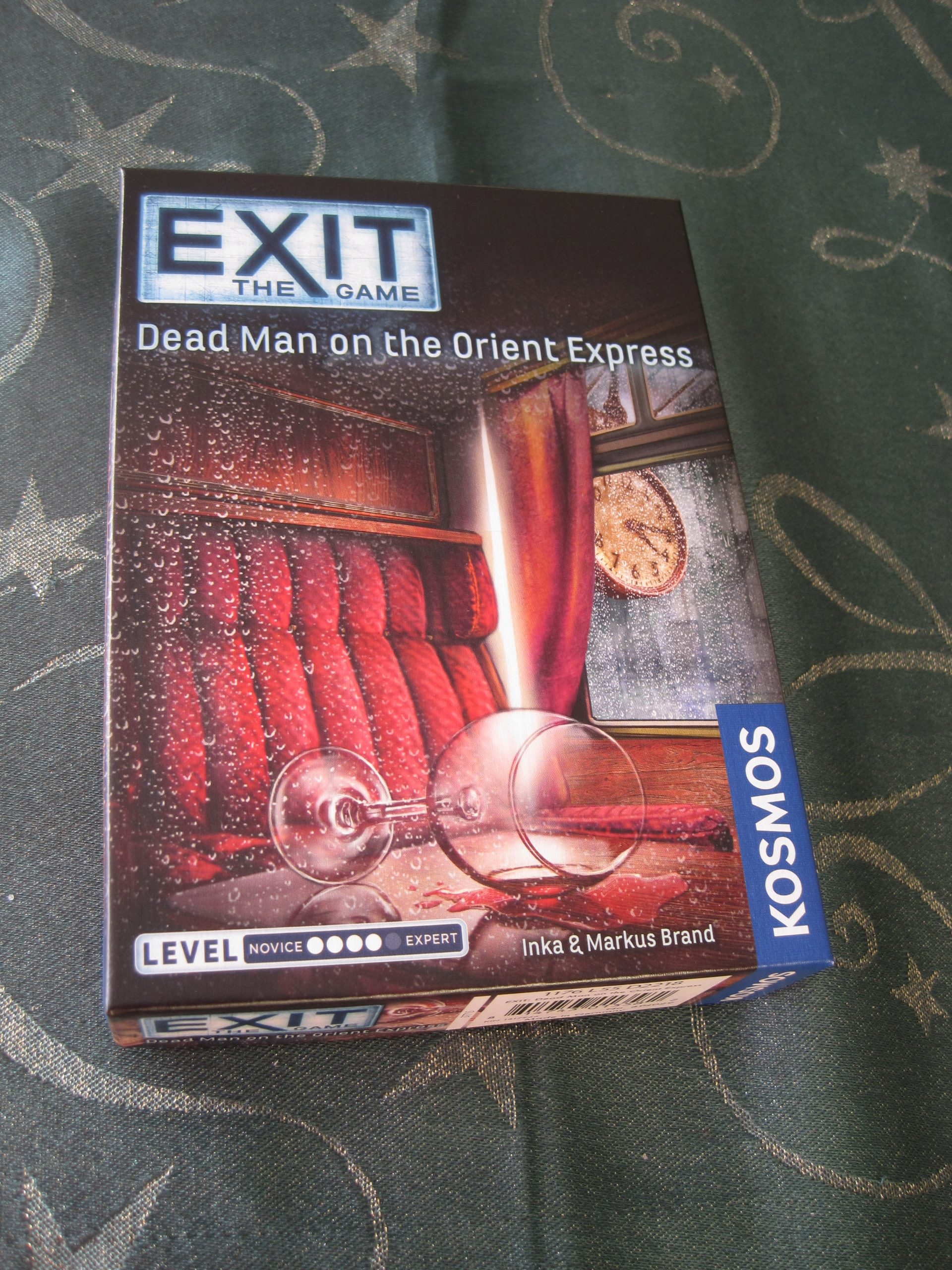 Dead Man on the Orient Express EXIT game - photo by juliamaud