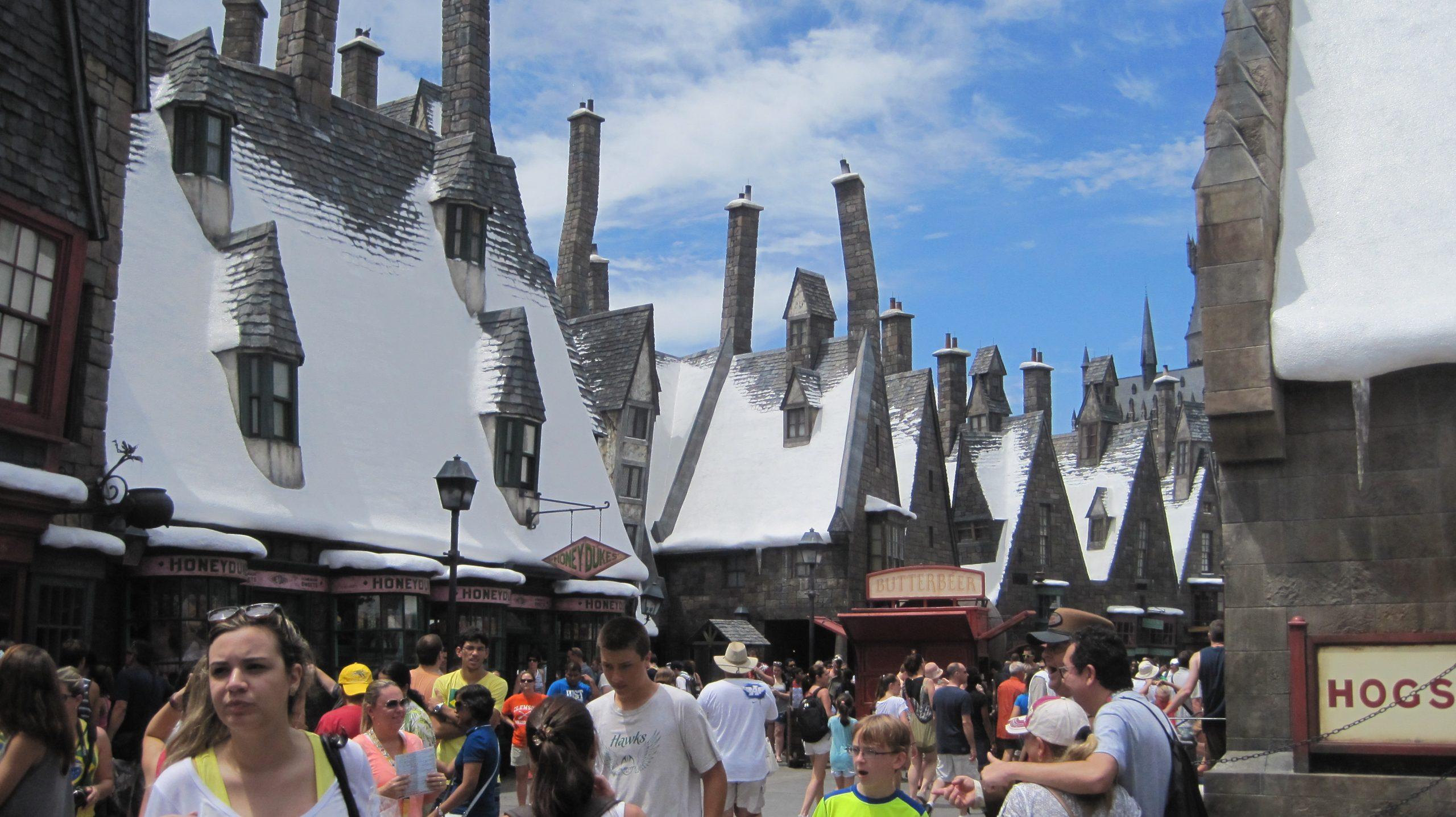 Universal Studios' Harry Potter themed lands - photo by Juliamaud